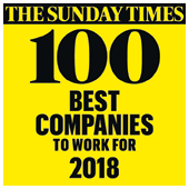 The Sunday Times Top 100 2018